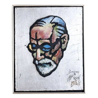Dane Atkinson Sigmund Freud Painting