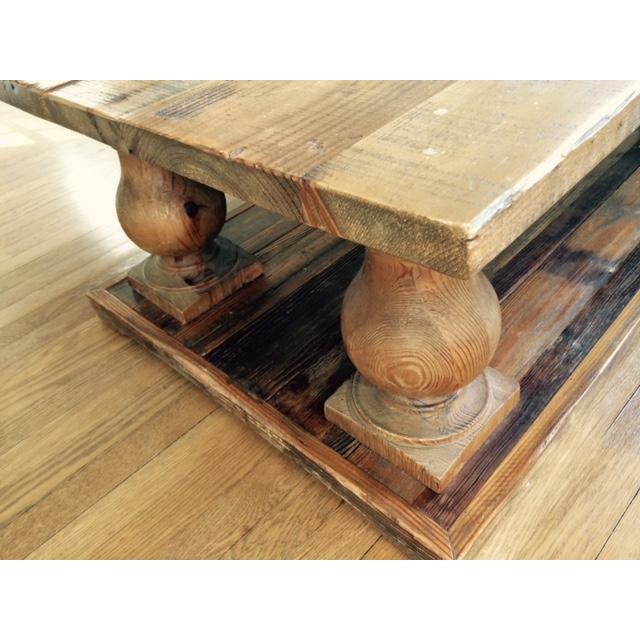 Arhaus Wooden Coffee Table - Image 4 of 9