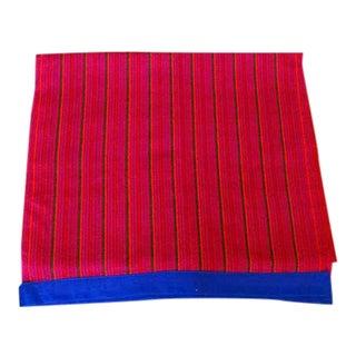 Burmese Palavng Skirt Runner