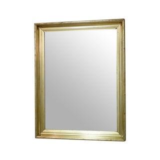 Vintage Silver Gold Mirror