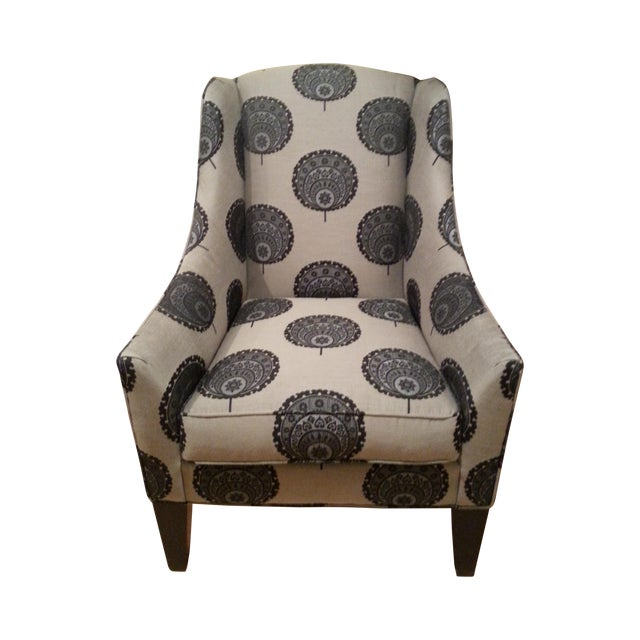 Funky Queen Anne Chair from Ethan Allen - Image 1 of 3