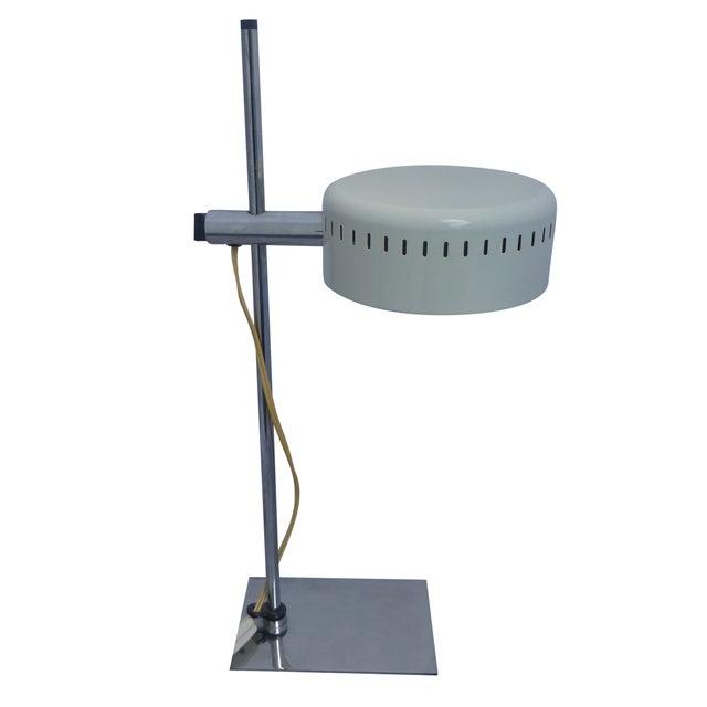 Mid Century Pan Head Lamp, Robert Sonneman - Image 1 of 9