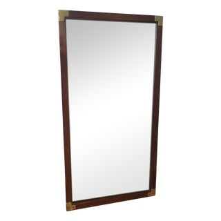 Vintage Used Campaign Wall Mirrors Chairish