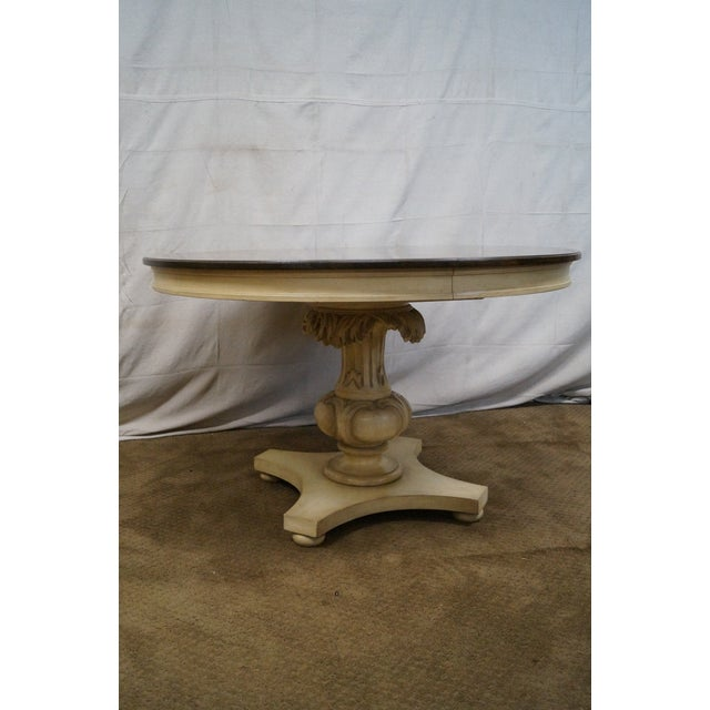 Image of Vintage Round French Style Dining Table