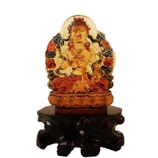 Peking Glass Siddharta Gautama Buddha