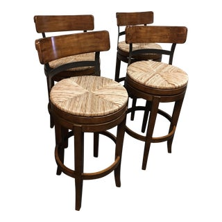Marguerite Swivel Counter Stools - Set of Four