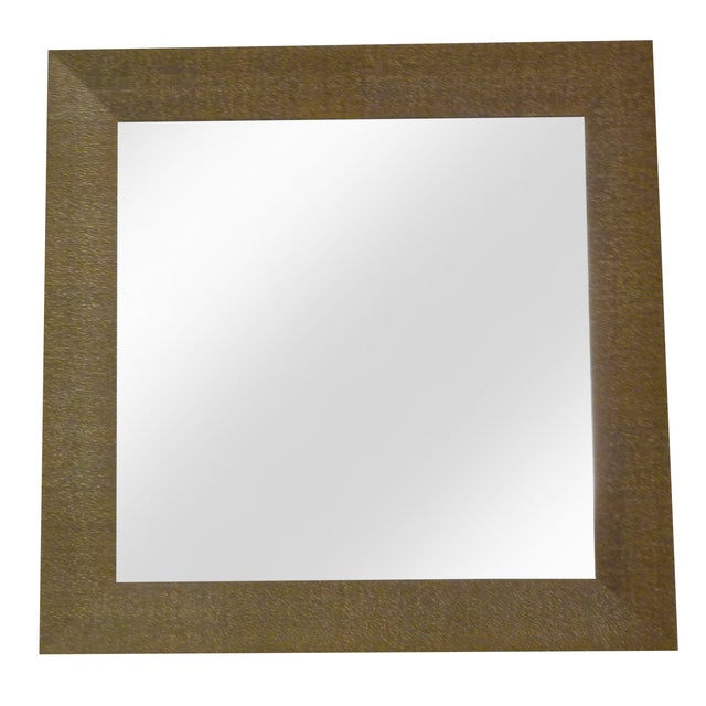 Image of Faux Shagreen Mirror