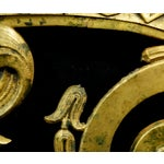 Image of Bronze Art Nouveau Decorative Plaque
