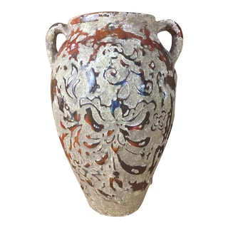 Boho Raised Glaze Vase