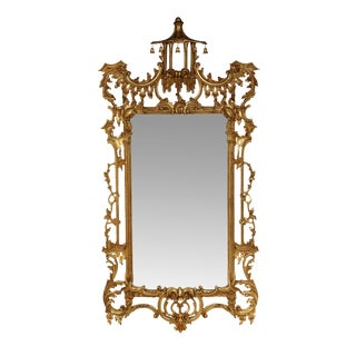 Italian Gilt Chippendale Mirror