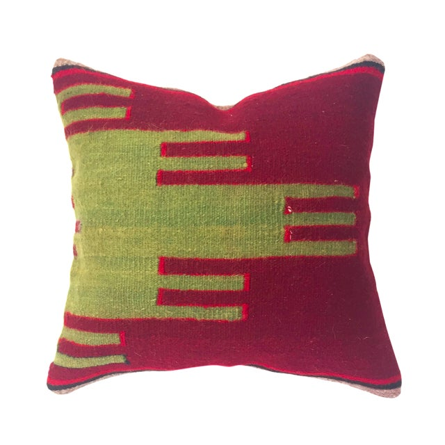 Vintage Kilim Square Pillow - Image 1 of 5
