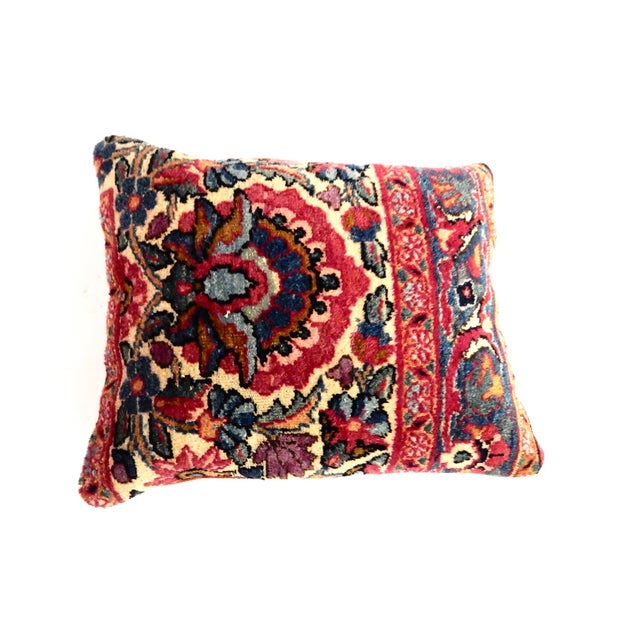 Image of 19th Century Kirman Fragment Pillow