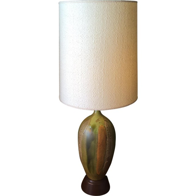 Image of Lava Glaze Table Lamp