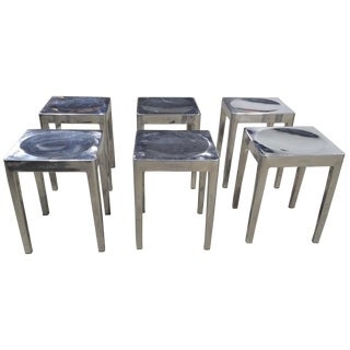 Phillipe Starck for Emeco Low Stools - Set of 6