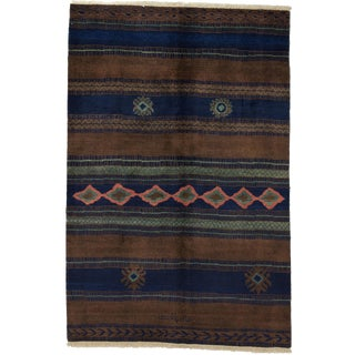 """Moroccan Hand Knotted Area Rug - 6'1"""" X 9'1"""""""