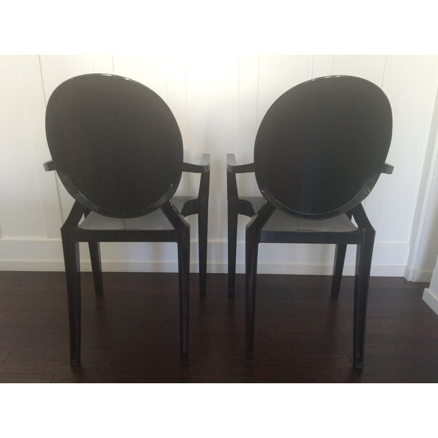Phillipe Starck Kartell Louis Ghost Chair - Pair - Image 6 of 11