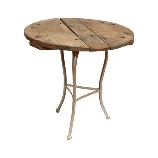 Rustic Wine Table