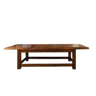 Long Belgian Work Table