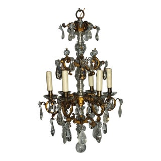 Antique Chandelier. Elegant Louis XV Chandelier