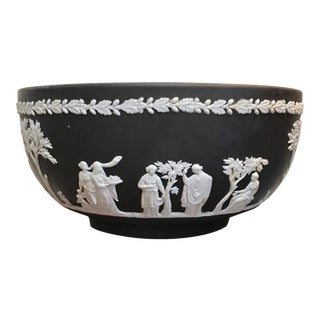 Wedgwood Black Basalt Centerpiece Bowl
