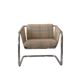 Chrome Tubular Sling Chair