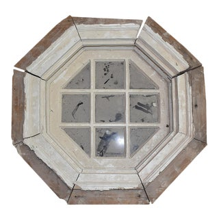 Hexagon Salvage Wooden Window
