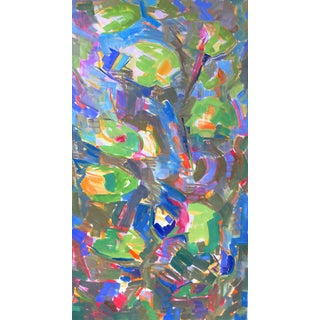 """""""Waterlilies"""" Large Abstract Painting by Trixie Pitts"""