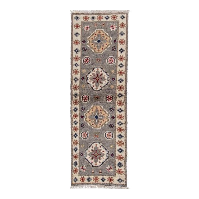 "Apadana - Modern Kazak Rug, 2'1"" x 6'6"" - Image 1 of 8"