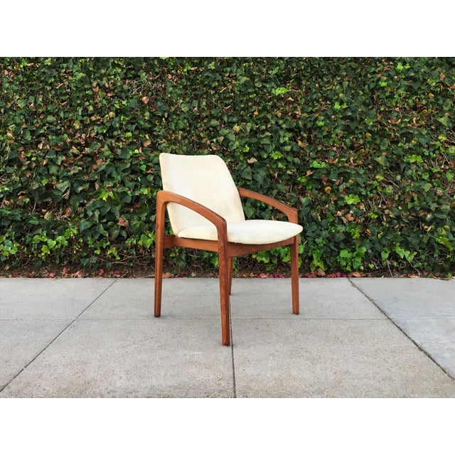Kai Kristiansen for Korup Stolefabrik Mid-Century Modern Carver Rosewood Dining Chairs - Set of 6 - Image 2 of 7