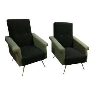 Gio Ponti Lounge Chairs - A Pair