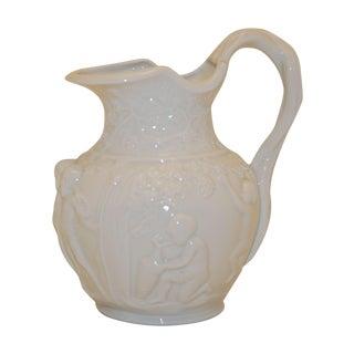 Furstenberg Raised Relief Porcelain Jug