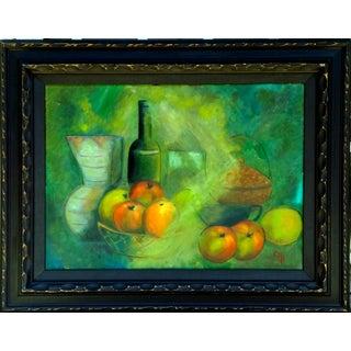 Still Life Oil Painting en Verde
