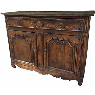 18th-C. French Carved Buffet