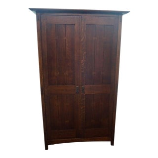 Stickley Arts & Crafts Armoire