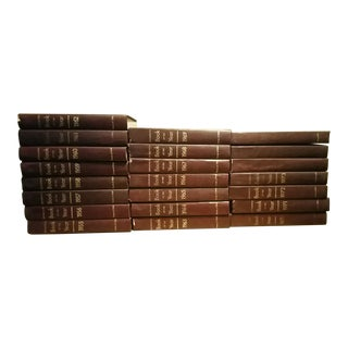 Britannica Book of the Year Book Set of 22 From 1955-1976