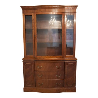 Philippine Mahogany China Cabinet