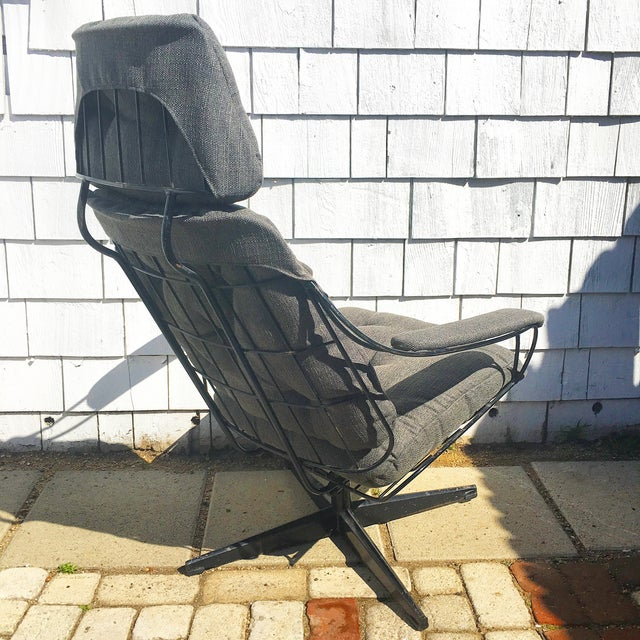 Homecrest Metal Wire Chair With Upholstery - Image 3 of 8