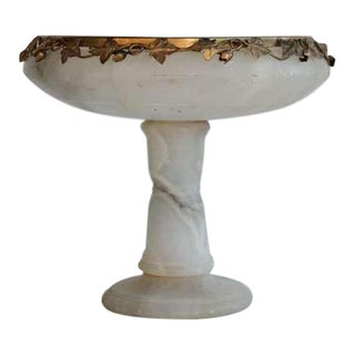 Italian Alabaster Footed Dish