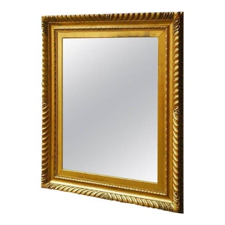 18th Century English Rococo Style Gold Leaf Mirror