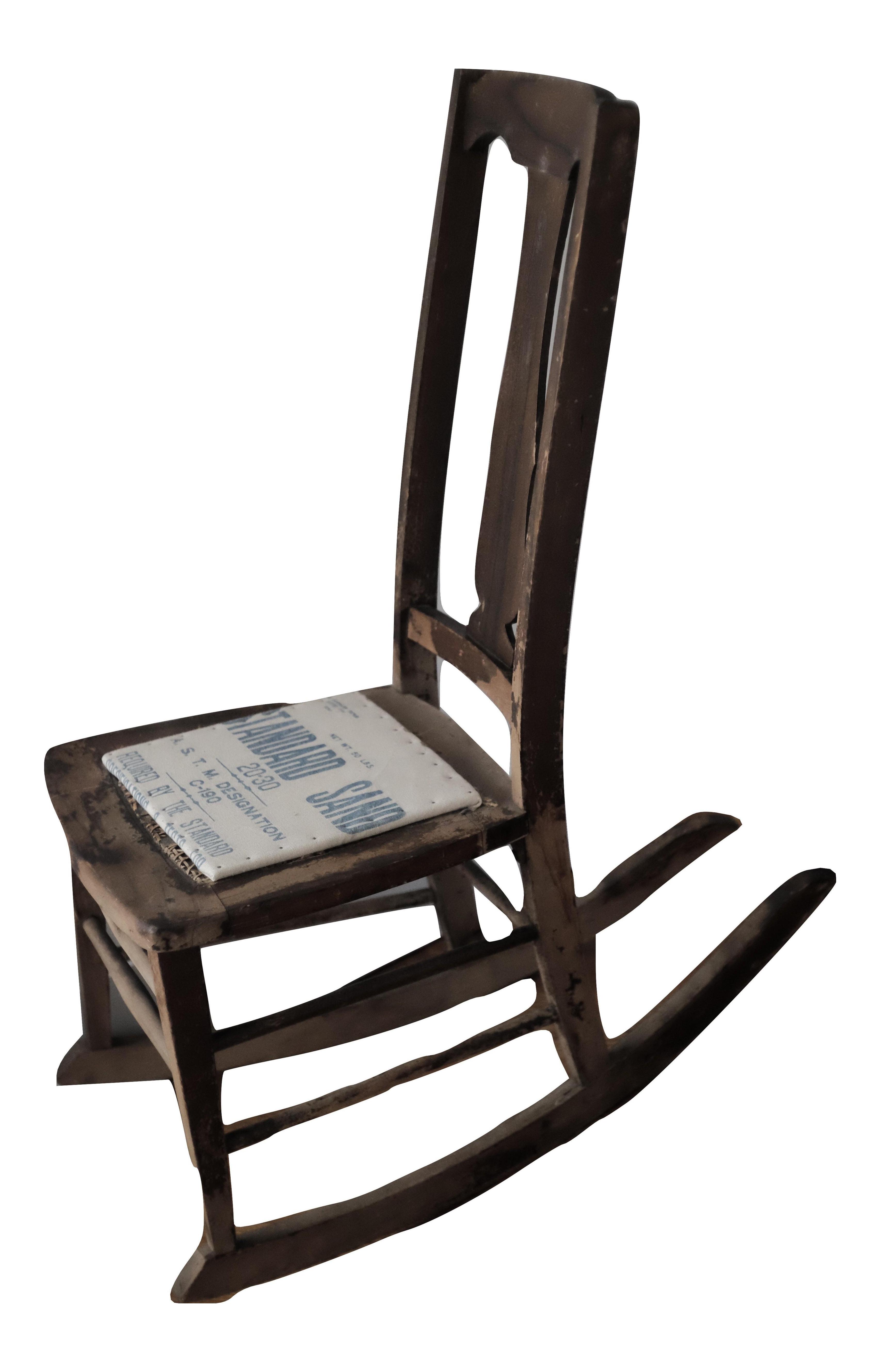 Antique Sewing Nursing Rocking Chair   Image 1 Of 8