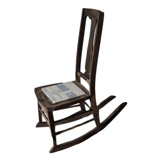 Antique Sewing Nursing Rocking Chair