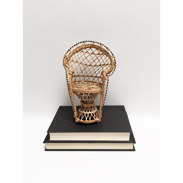 Image of Miniature Vintage Peacock Chair