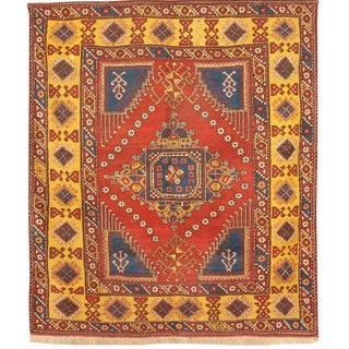Antique 19th Century Turkish Bergama Rug