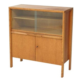 Cees Braakman early Cupboard or Bar in Oak, Netherlands, 1940s/50s