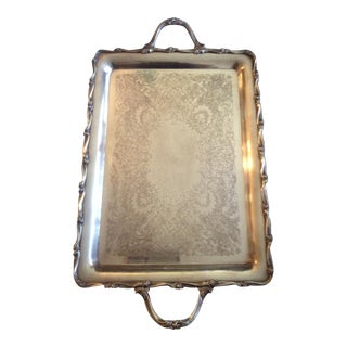 Mid Century International Silver Company Serving Tray