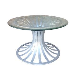 Vintage Russell Woodard Aluminum Side/Coffee Table