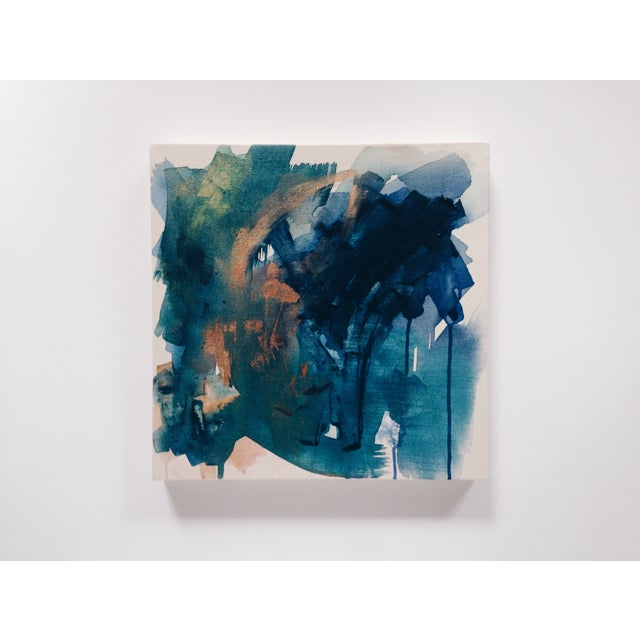Dani Schafer Then We Woke Up Abstract Painting - Image 2 of 6