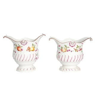 Pair of Royal Vienna Cachepots
