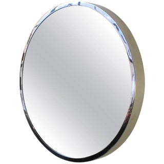 "Polished Stainless Steel ""Oculus"" Mirror"