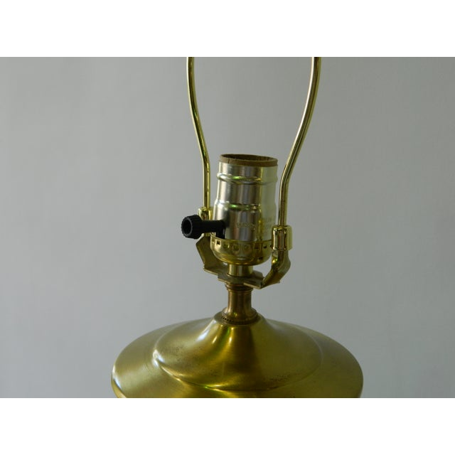 Triple Gourd Green Porcelain Lamp - Image 6 of 6